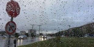 Marmara'nın batısında bugün kuvvetli yağış bekleniyor