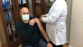Eskişehir'deki ilk Turkovac aşısı ESOGÜ Hastanesi'nde yapıldı