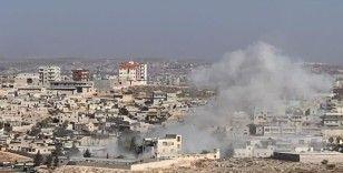 Esad rejimi İdlib'i vurdu: 3 ölü, 10 yaralı