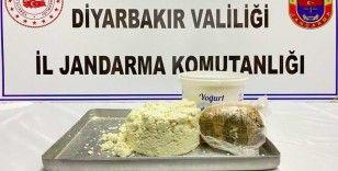 Diyarbakır'da 400 gram toz esrar maddesi ele geçirildi