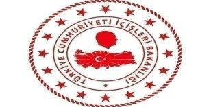 """İçişleri Bakanlığı: """"PKK'dan kaçan 4 terör örgütü mensubu güvenlik güçlerine teslim oldu"""""""