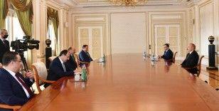 Azerbaycan Cumhurbaşkanı Aliyev, Çalışma ve Sosyal Güvenlik Bakanı Bilgin'i kabul etti