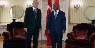 Cumhurbaşkanı Erdoğan ve Angola Devlet Başkanı Lourenço baş başa görüştü