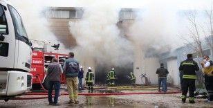 Eskişehir OSB'deki yangın kontrol altına alındı