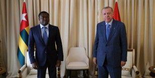 Cumhurbaşkanı Erdoğan, Togolu mevkidaşı Gnassingbe ile görüştü