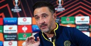Vitor Pereira: 'Antwerp maçından 3 puan almanın çok önemli olduğunu biliyoruz'