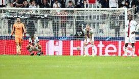 Beşiktaş Avrupa'da kötü günler geçiriyor