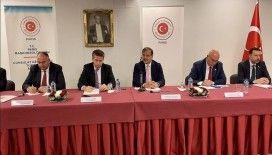 TBMM İnsan Haklarını İnceleme Komisyonu Başkanı Çavuşoğlu, Paris'te STK temsilcileriyle görüştü