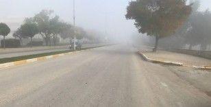 Uzunköprü'de yoğun sis