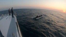 Kuşadası açıklarında 34 düzensiz göçmen kurtarıldı