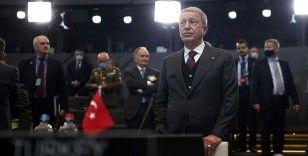 Milli Savunma Bakanı Akar NATO Savunma Bakanları Toplantısı'na katıldı
