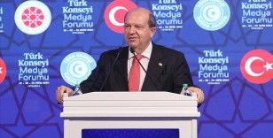 KKTC Cumhurbaşkanı Tatar: Bizler şu anda Türk dünyasının Doğu Akdeniz'deki temsilcileriyiz