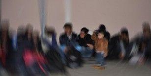 Kırklareli'nde 57 kaçak göçmen yakalandı