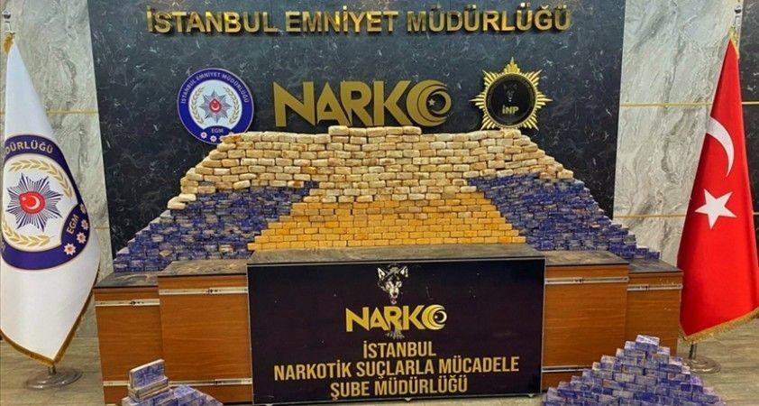İçişleri Bakanı Soylu, İstanbul'da 285 kilogram eroin ele geçirildiğini duyurdu