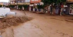 Cezayir'i sel vurdu: Onlarca araç sürüklendi, evler sular altında kaldı