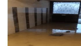 Selin vurduğu Bozkurt'ta sağanak yağış sonrası sokaklar sular altında kaldı