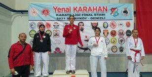 Bağlar Belediyespor'un karate başarısı