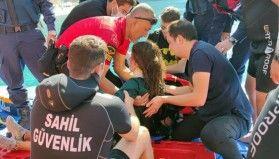 Ukraynalı paraşütçü denize düştü, Sahil Güvenlik ekipleri anında müdahale etti