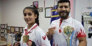 Şampiyon babanın şampiyon kızı, Dünya Şampiyonası için ter döküyor