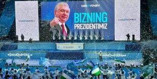 Başkan Kassanov, Cumhurbaşkanı Mirziyoyev'i tebrik etti